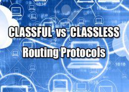 پروتکل های مسیریابی Clssful vs Classless