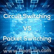 تفاوت Circuit Switching و Packet Switching