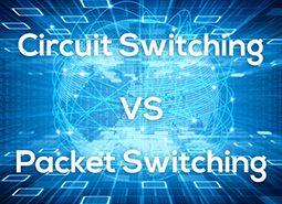 تفاوت Circuit Switching و Packet Switching
