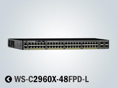 فروش سوئیچ سیسکو 2960X-48FPD-L