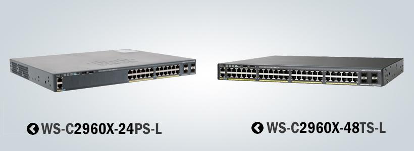 سوئیچ سیسکو 2960X-24PS-L سوییچ شبکه 2960X-48TS-L