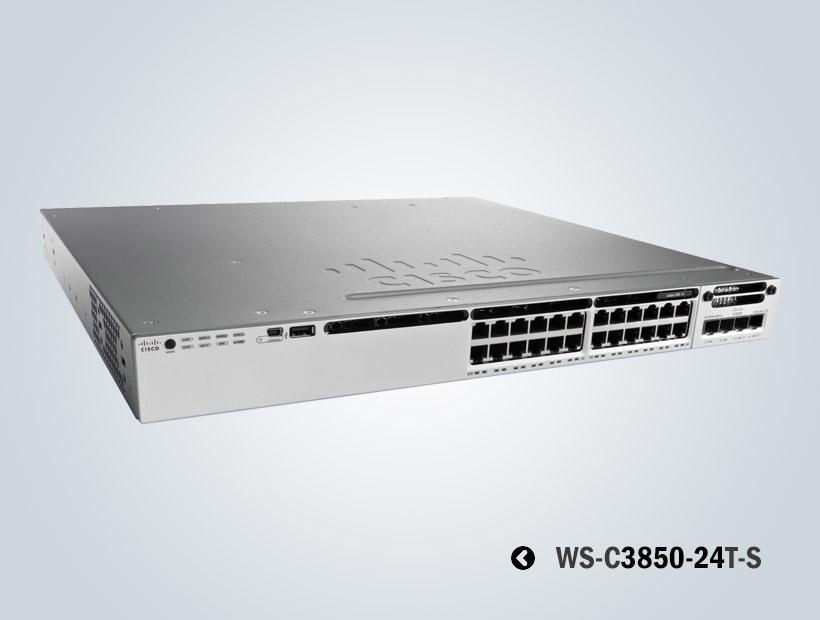 سوئیچ شبکه سیسکو 3850-24T-S
